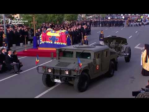 Romania Holds State Funeral For Former King Michael
