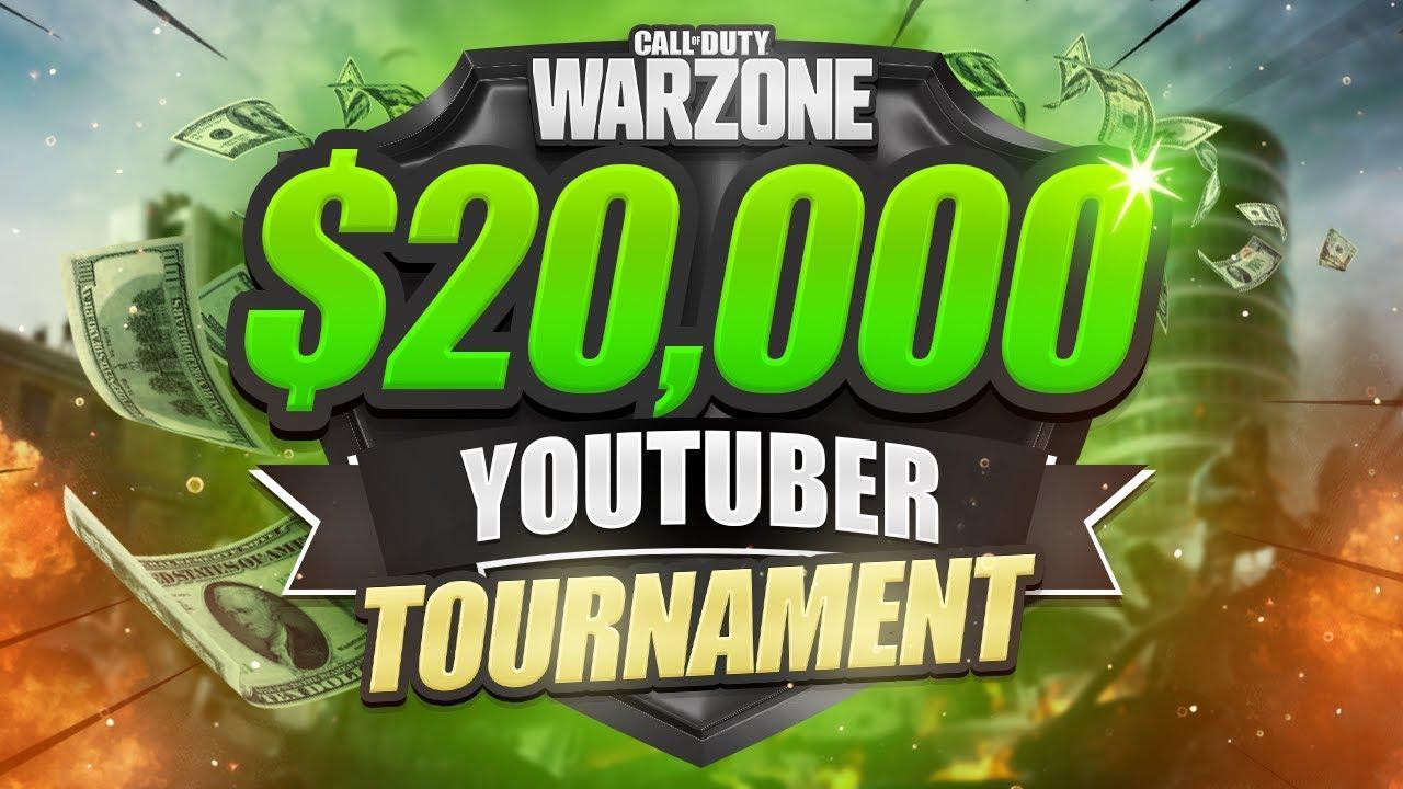 WARZONE $20,000 TOURNAMENT - Week 2 (CoD Battle Royale)