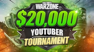 WARZONE $20,000 TOURNAMENT - Warzone Wednesday Week 2 (CoD Battle Royale)