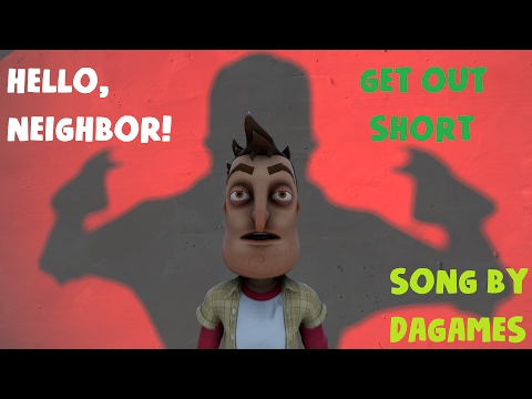 [SFM HELLO NEIGHBOR SHORT] Hello Neighbor Song - Get Out