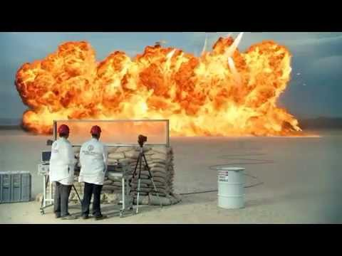 Trane HVAC 'Intense Heat' TV Commercial Ad 2012 Aircraft Drop Fuel on Unit It's Hard to Stop a Trane