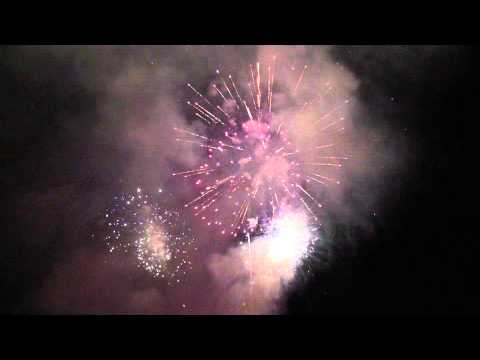 Fireworks (short clip) @ SNMS 7/06/13