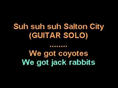 Salton City Theme Song karaoke version CustomKaraoke Rare Custom