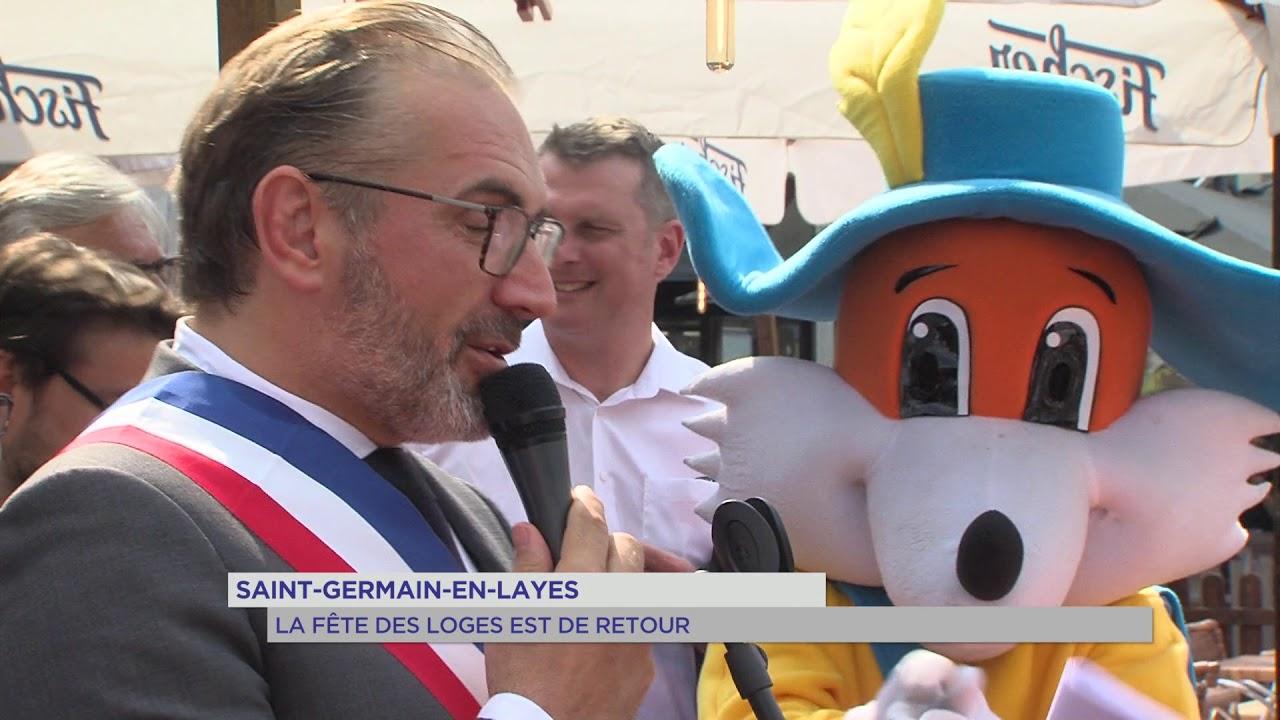 Saint-Germain-en-Laye : La fête des loges est de retour