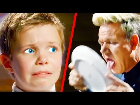 Top 10 Gordon Ramsay MasterChef Junior Moments (Season 6)