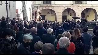 I funerali di Tonino Pace a Guglionesi