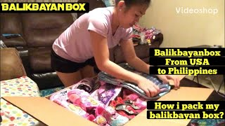 How to pack my Balikbayan box,…