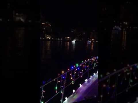 2016 Xmas Boat Parade Village on Venetian Bay, Naples, FL