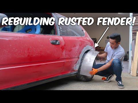 DIY Rust Repair - Lasts Longer Than Bondo!