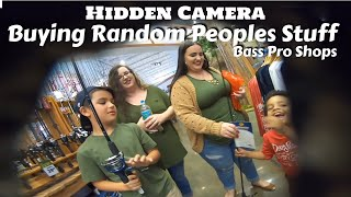 I Go Undercover at Bass Pro Shops and Buy Random Peoples Stuff -