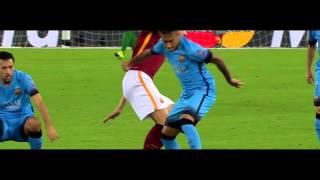 Neymar vs AS Roma Away HD 1080i 16092015 by MNcomps