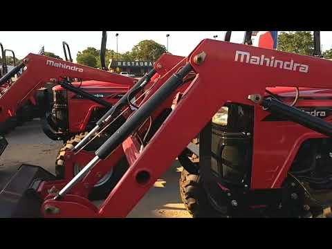 Mahindra 4500 Series - YouTube on