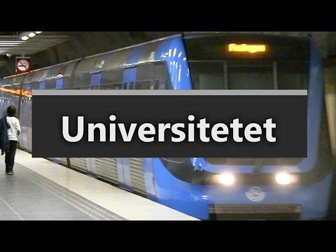 Station Universitetet på Tunnelbanan i Stockholm