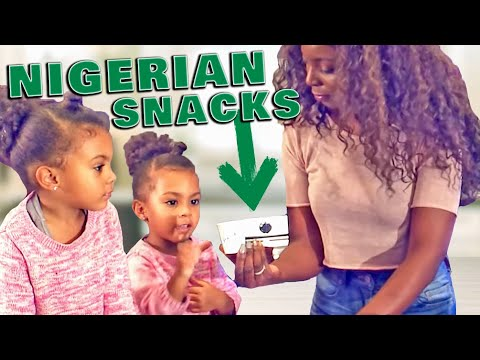 TWINS AND MOM MAKING TRADITIONAL AFRICAN NIGERIAN SNACKS
