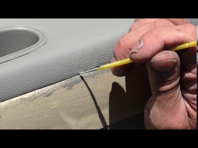 Car Door Vinyl Panel Repair Part 2 - Eagle, Idaho