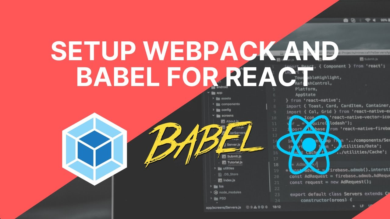 Download Setup Webpack and Babel for React