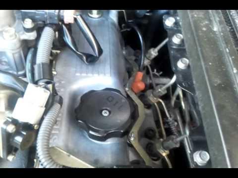 Ford 3 0 V6 Engine Firing Diagram 4d56 2 5 Td Youtube