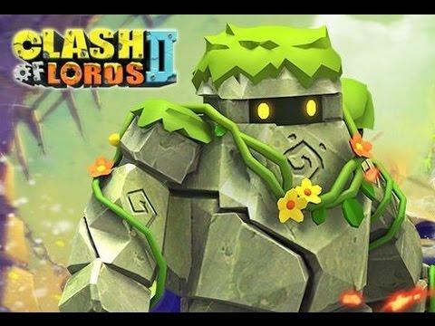 Landslide - LIVE evolution, gameplay level 120 stats - Clash of Lords 2