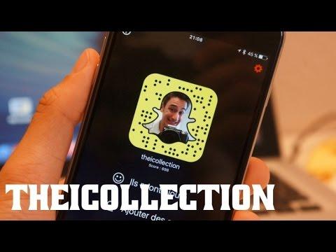 Les fonctions cachées de Snapchat