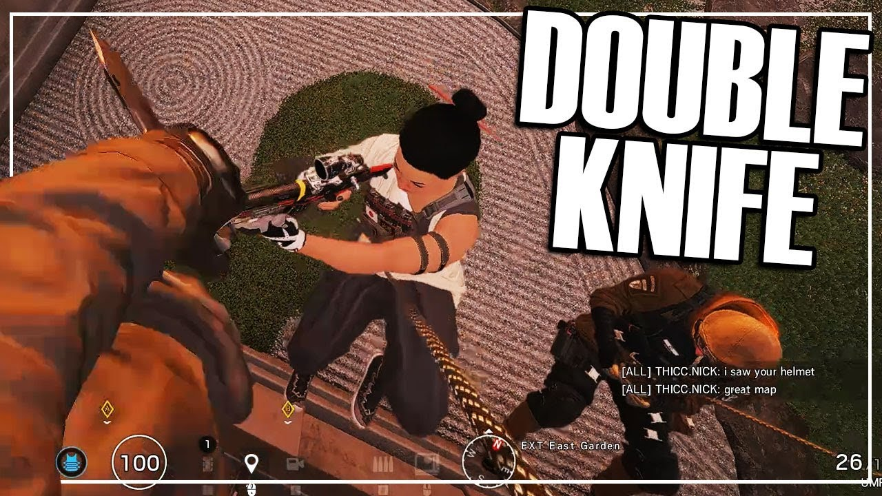 Watch Copper To Diamond: The Double Knife Runout - Rainbow Six Siege