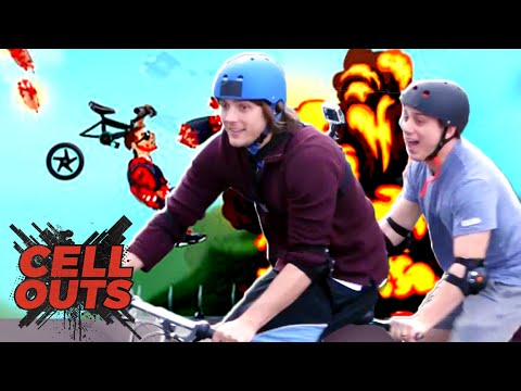 CRAZY WHEELS TANDEM BIKE CHALLENGE (Cell Outs)
