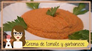 Crema De Tomate Y Garbanzos / Receta Sana Paso A Paso / Fácil Y Resultón