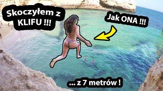 Skoczyłem z KLIFU do Oceanu !!! - 7 Metrów w Dół !!! (Vlog #315)