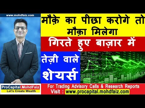 मौक़े का पीछा करोगे तो मौक़ा मिलेगा  | Latest Stock Market Analysis | Latest Stock Market Videos