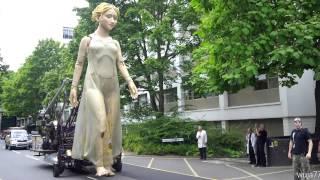 amazing blonde lady - LADY GODIVA