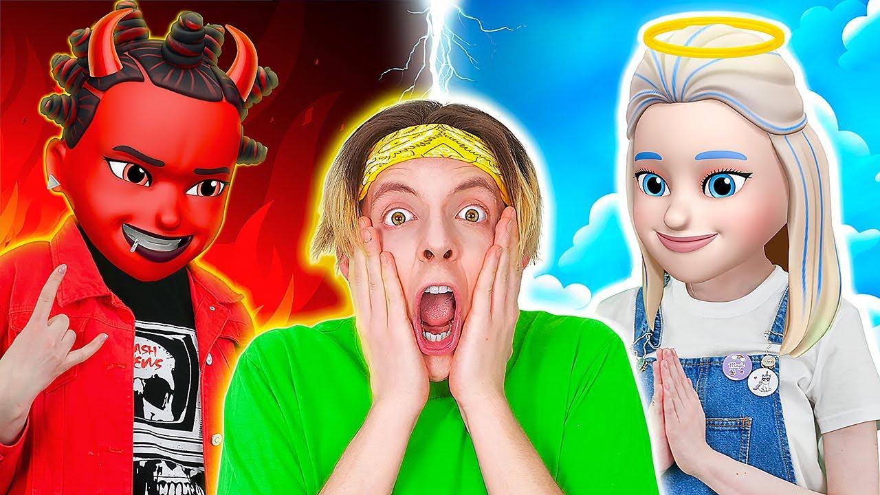 OMG!天使和惡魔控制了我的人生 || 123 GO! BOYS 現實版Emoji之被善惡支配的我