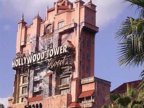 Twilight Zone Tower Of Terror Hollywood Studios at Walt Disney World