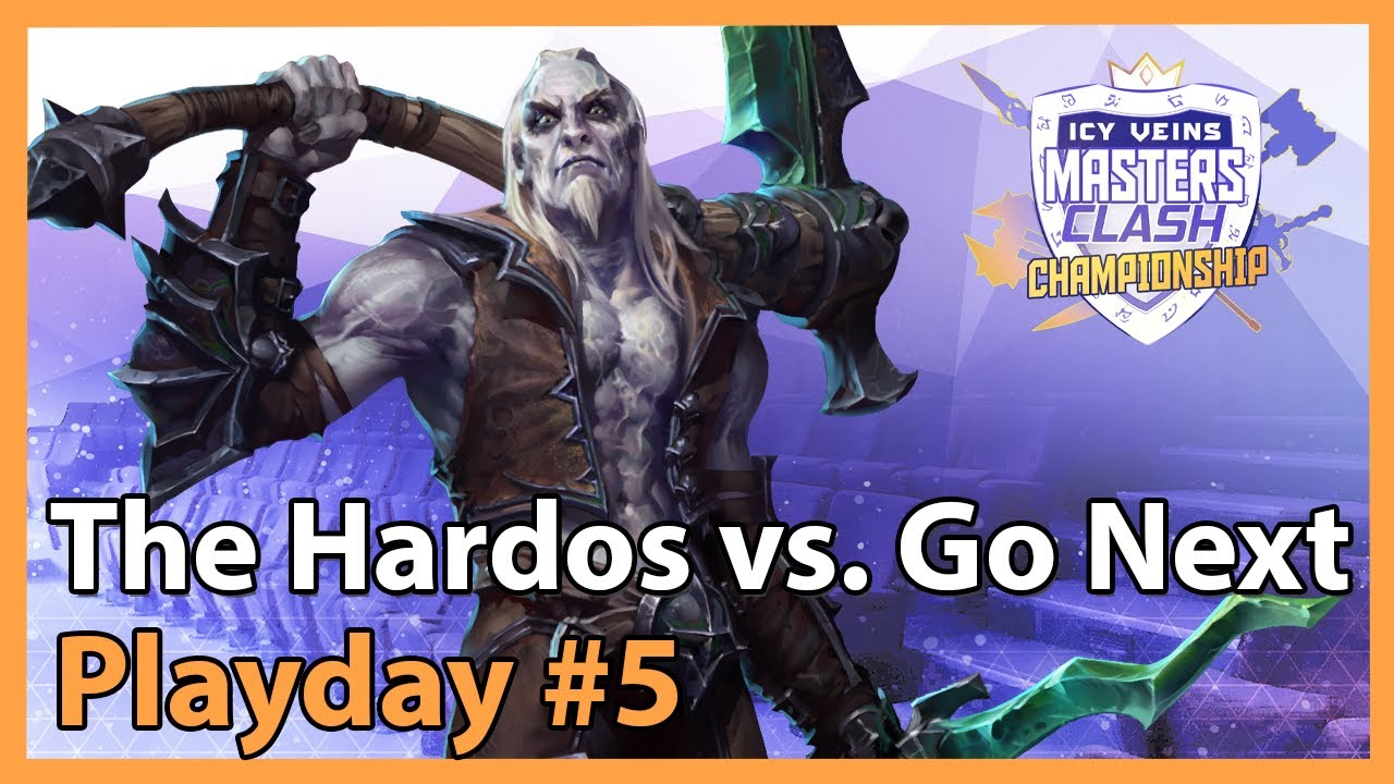 Hardos vs. Go Next - MC - Heroes of the Storm Tournament