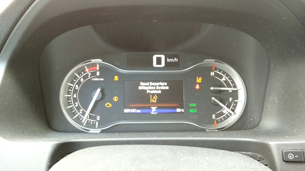 2016 Honda Pilot Multiple Warning Lights Problem