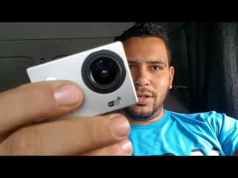 GoPobre apresentando a câmera nova pra filmagens no canal 4k Sport Cam