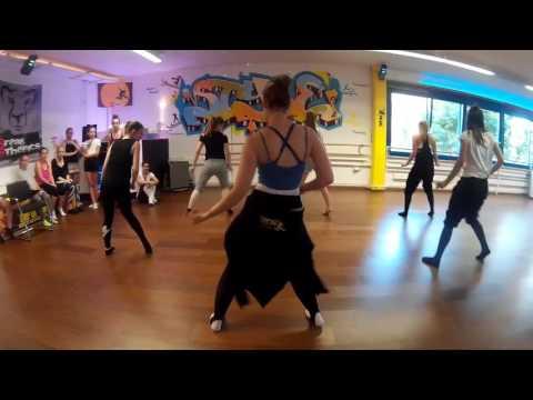 Jazz routine for beginners, Frank Sinatra  I Wont Dance