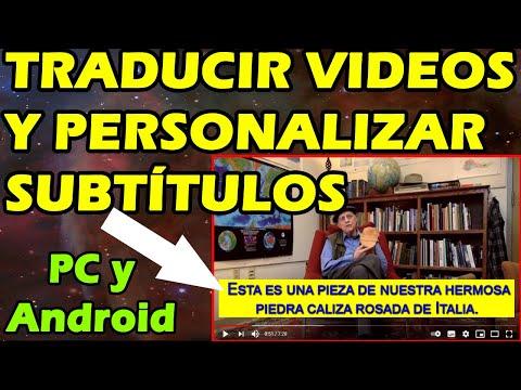 COMO TRADUCIR VIDEOS DE YOUTUBE A ESPAÑOL o a Cualquier Idioma 🚀 PC y Android💥2021