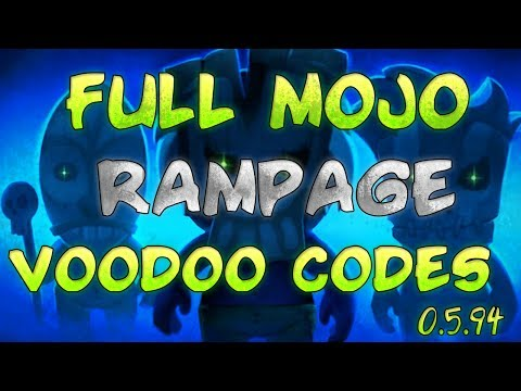 Full Mojo Rampage - Voodoo Codes Guide - Tutorial