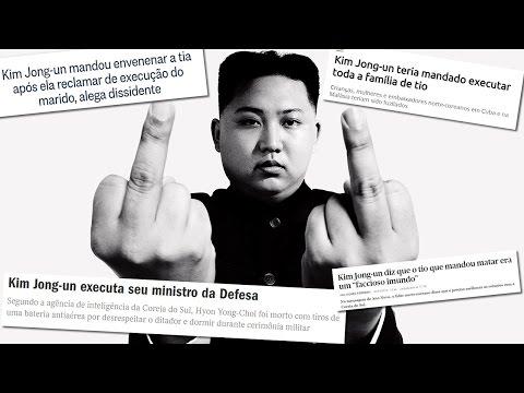 5 Coisas simples que tiram o ditador da Coréia do Norte do sério