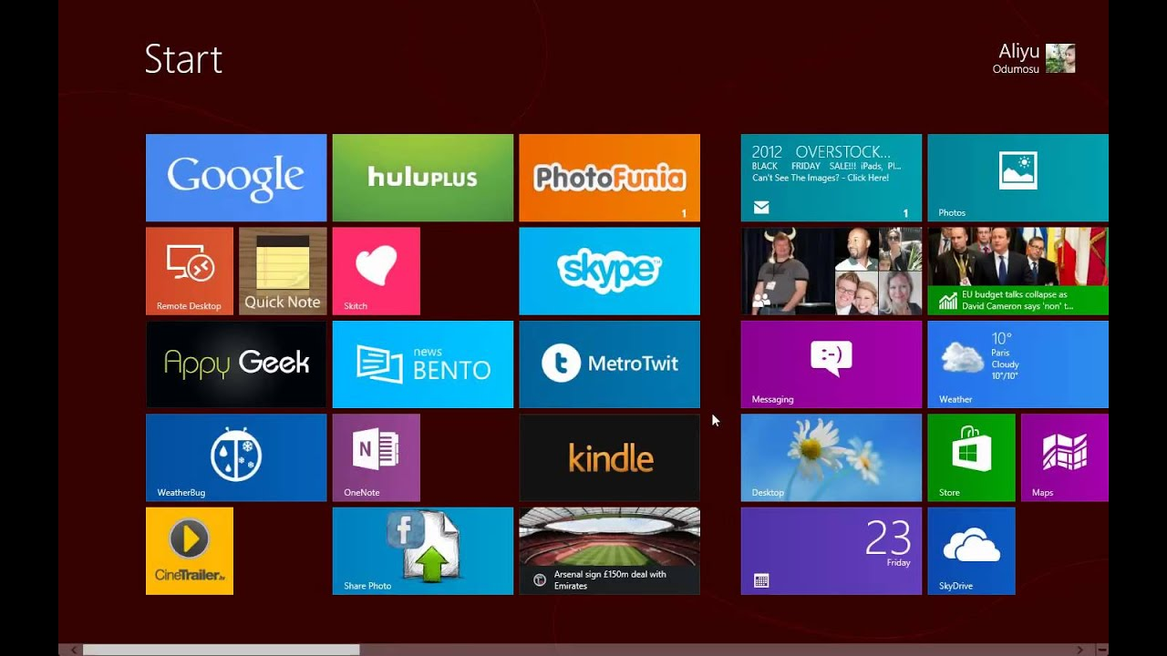 how to change administrator email on windows 8
