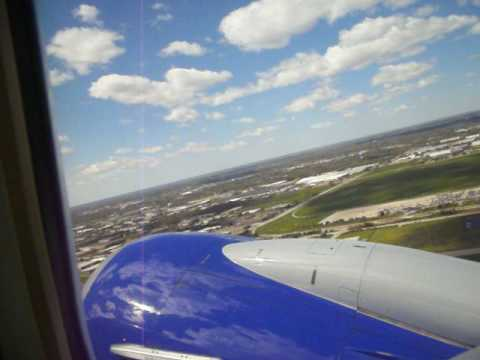 Taking off from Gerald R. Ford international Airport Grand Rapids Michigan