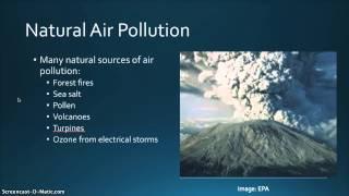 Video Lesson 2  1. Natural Air Pollution download MP3, 3GP, MP4, WEBM, AVI, FLV Juni 2018