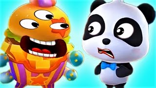 Little Panda Save Tнe Town   Play Puzzle Kids Games   Fun Educational Game For Children