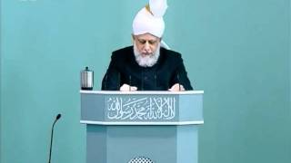 Sindhi Friday Sermon 26 Nov 2010, Virtue of steadfastness and practice of the Promised Messiah(as)