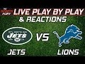 New York Jets vs Detroit Lions | Live Play-By-Play & Reactions