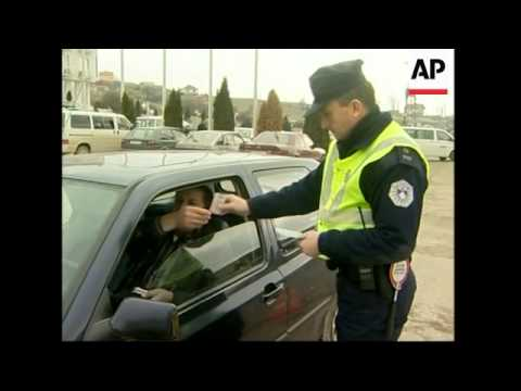 Security stepped up in ethnically-divided town ahead of Serbian election