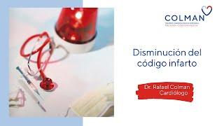 Disminución del código infarto  en confinamiento