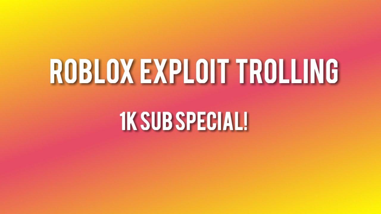 ROBLOX EXPLOIT TROLLING KIDS #1 SERVER SIDE