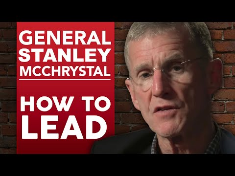 GENERAL STANLEY MCCHRYSTAL - HOW TO LEAD PART 1/2 | London Real