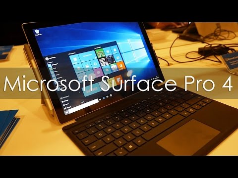 Microsoft Surface Pro 4 First Looks & Overview