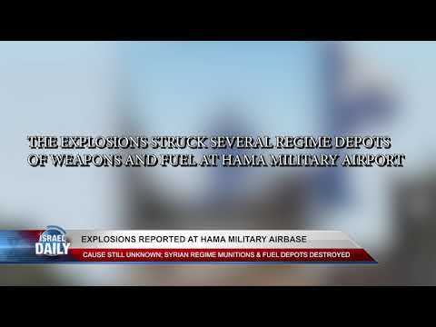 BREAKING NEWS: Explosions reported at Hama military airbase- May 18, 2018